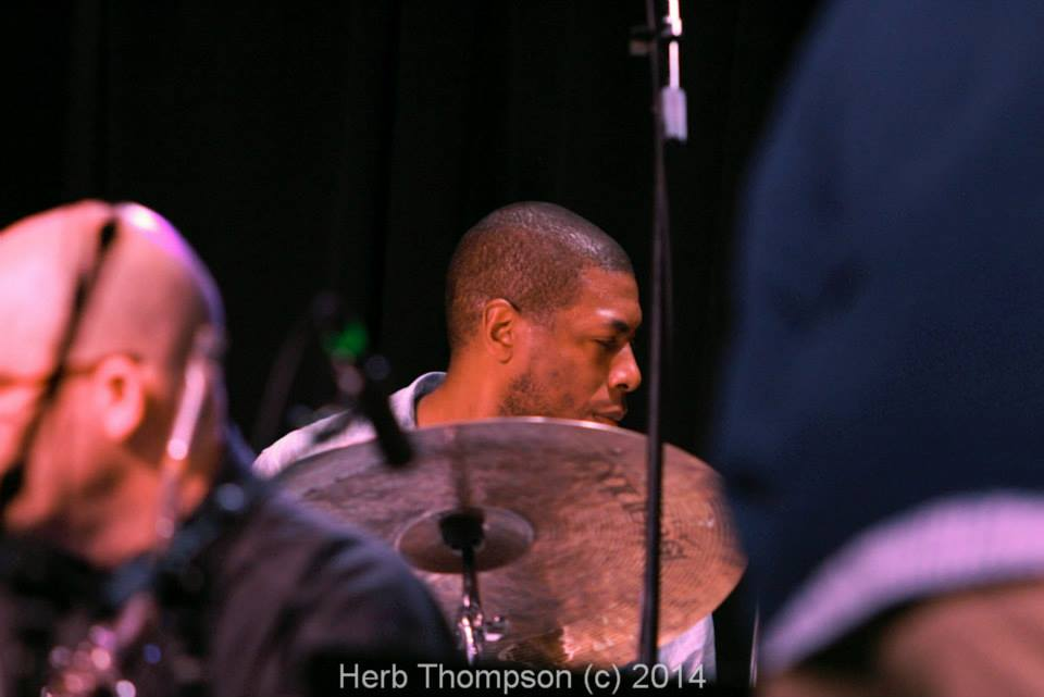 Marcus Lewis Big Band (photo courtesy of Herb Thompson)